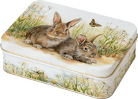 Bunny and Clyde Candy Tin