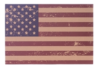Eat Drink Host American Flag Placemats