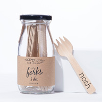 Eat Drink Host - Tiny Appetizer Forks Nosh