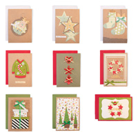 Handmade Festive Christmas Card Collection