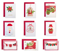 Handmade Christmas Card Collection
