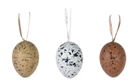 Egg Pods Set Speckled (Set of 12)