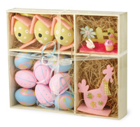 Easter Decor Box Pink