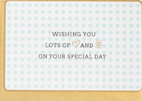 Enfant Terrible Wishing You on Your Special Day Card