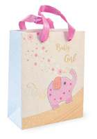 Baby Girl Pink Elephant Bag