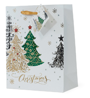 Christmas Tree Foil Large Bag