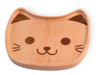 Bamboo Animals Cat Face Plate