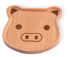 Bamboo Animals Pig Face Plate