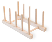 Bamboo Animals Plate Rack