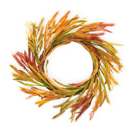 Autumn Wheat Wreath