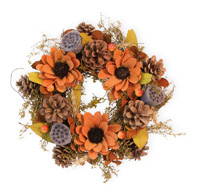 Bittersweet Autumn Wreath