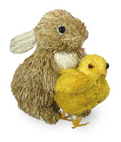 Baby Bunny with Chick