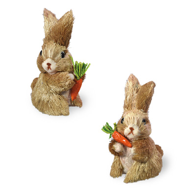 Baby Bunnies with Carrot Set
