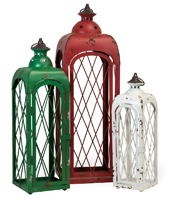 Rustic Seasonal Lanterns