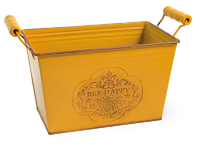 Bee Happy Rectangle Tin
