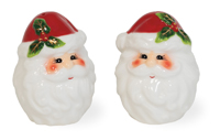 Holly & Ivy Santa Salt & Pepper Set