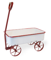 Farmhouse Metal Wagon
