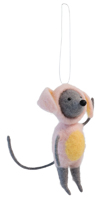 Bunny Mouse Ornament