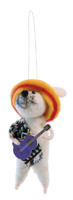 Day of the Dead Pepi Mouse Ornament