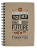 Future Self Wire Notebook Large