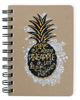 Pineapple Wire Notebook Small