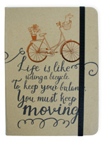 Bicycle Hard Kraft Journal Large