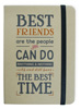 Best Friends Hard Kraft Journal Large