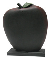 Apple 3D Chalkboard