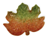Pumpkin Harvest Leaf Plate
