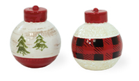 Country Plaid Salt & Pepper Set