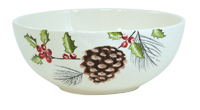 Yuletide Pinecone Small Bowl