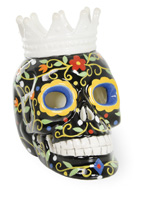 Day of the Dead LED Crown Skull