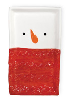Sweater Snowman Tray
