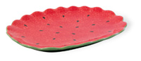 Watermelon Oval Platter