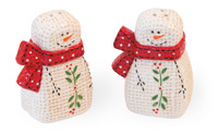 Comfort Snowman Salt & Pepper Set