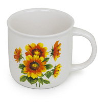 MUG COLOURFUL SUNFLOWERS