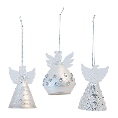 Angels on High Ornament Set