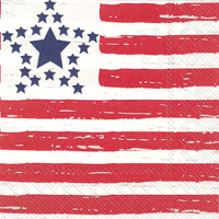 Distressed Flag Lunch Napkin