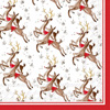 Reindeer Pattern Lunch Napkin