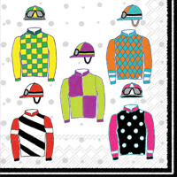 Jockey Silks Lunch Napkin