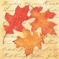 Autumn Splendor Lunch Napkin
