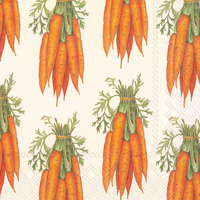 Carrots Lunch Napkin