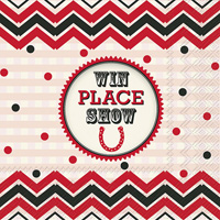 Win, Place, Show Lunch Napkin