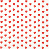 My Little Sweetheart Red Lunch Napkin