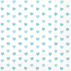 My Little Sweetheart Light Blue Lunch Napkin