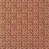 Loft Gold Red Lunch Napkin