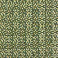 Loft Gold Green Lunch Napkin