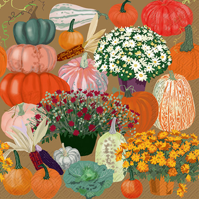 Bountiful Harvest Lunch Napkin
