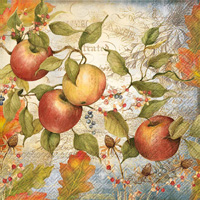 Apple Lunch Napkin