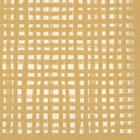 Gentle Square Gold Lunch Napkin
